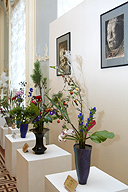 Japanese Autumn in St Petersburg. The ikebana exhibition at the State Hermitage