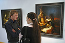 The Hermitage and Famous Russian Collectors Exhibition Opening at the Art Gallery of Lipetsk Region