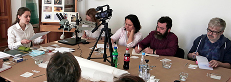 Hermitage Days in Vladivostok. Master class in the restoration of graphic art