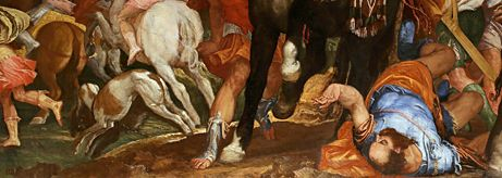 The restored painting of The Conversion of Saul by Veronese returns to display