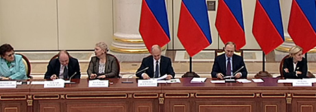 Joint meeting of the President's Council for Culture and Art and Council on the Russian Language