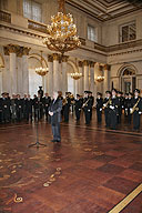St. George's Day. Distribution of certificates of gratitude from the President of the Russian Federation